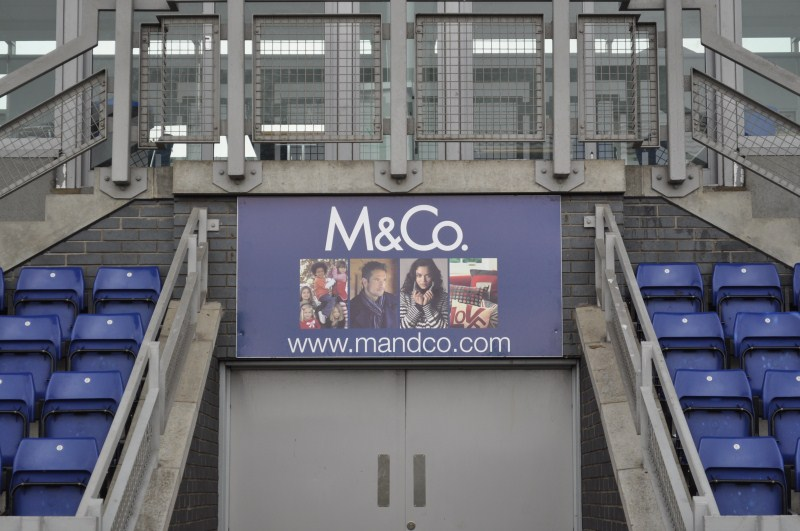 Tunnel advert - M&CO