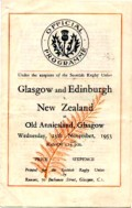 Match programme from Old Anniesland