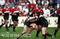 Ferg in action for Hawks 1998 cup final